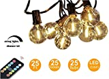 LOW energy cost string lights with 240W dimmer kits (control up to 400 bulbs) Certified product, indoor/outdoor use. Great decor for hanging, pergola backyard, bedroom, patio, gazebo, holiday Xmas