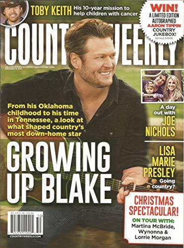 Country Weekly Magazine - Country Weekly Magazine December 16, 2013 Blake Shelton