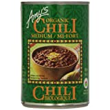 Amy'S Kitchen Organic Medium Chili, 398 ml