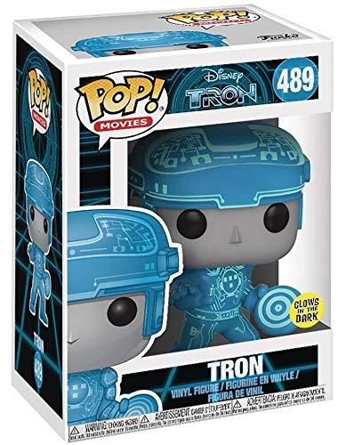 Disney: Tron Funko Pop Tron Vinyl Figure Includes Pop Box Protector Case