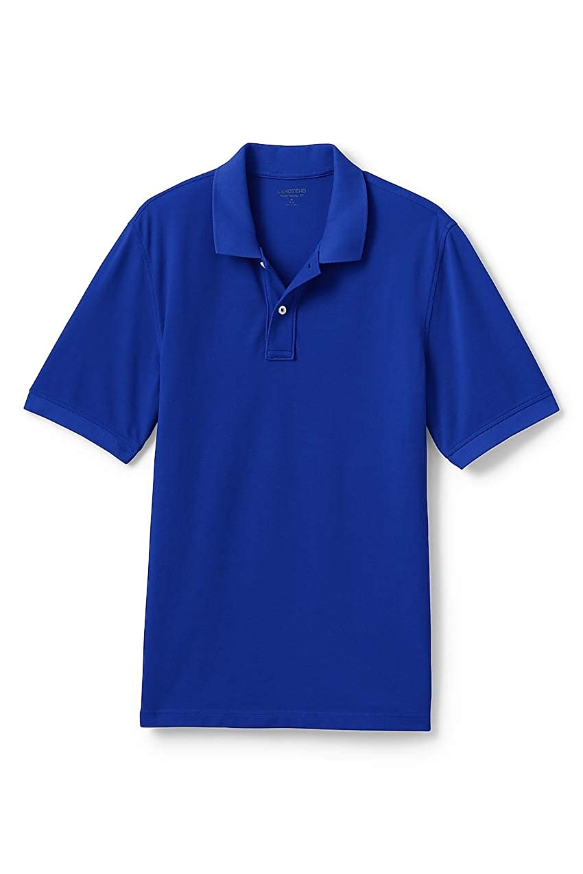 f7f1f158 Lands' End Men's Mesh Short Sleeve Polo Shirt at Amazon Men's Clothing  store: