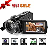 Video Camera HD Video Camcorder - Upgraded Version 1080P Camcorder Full HD Digital