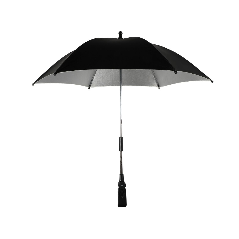 Phogary Stroller Umbrella Parasol (Black), Universal Fit Buggy Pram UV Sun Protection Umbrella for Baby Kids