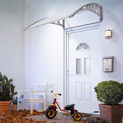 Door Window Outdoor Awning Patio Cover DIY Overhead Door Canopy Decorator (80x120cm)