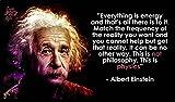 Albert Einstein Quote Motivation poster 20 inch x 13 inch