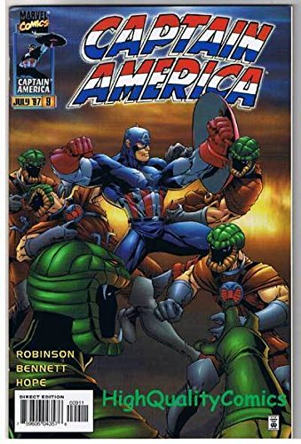 CAPTAIN AMERICA #9, VF, Horror Hollywood, Vol 2, 1996, more CA in - Hollywood Stores Ca In