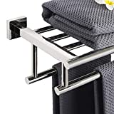 Alise 28-Inch Bathroom Lavatory Towel Rack Towel
