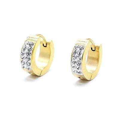 Pendientes Amarzk Joyas de moda de diamantes de imitación de ...