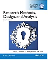 Research Methods, Design, and Analysis, 12th Edition