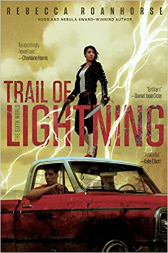Image result for Trail of Lightning - Rebecca Roanhorse