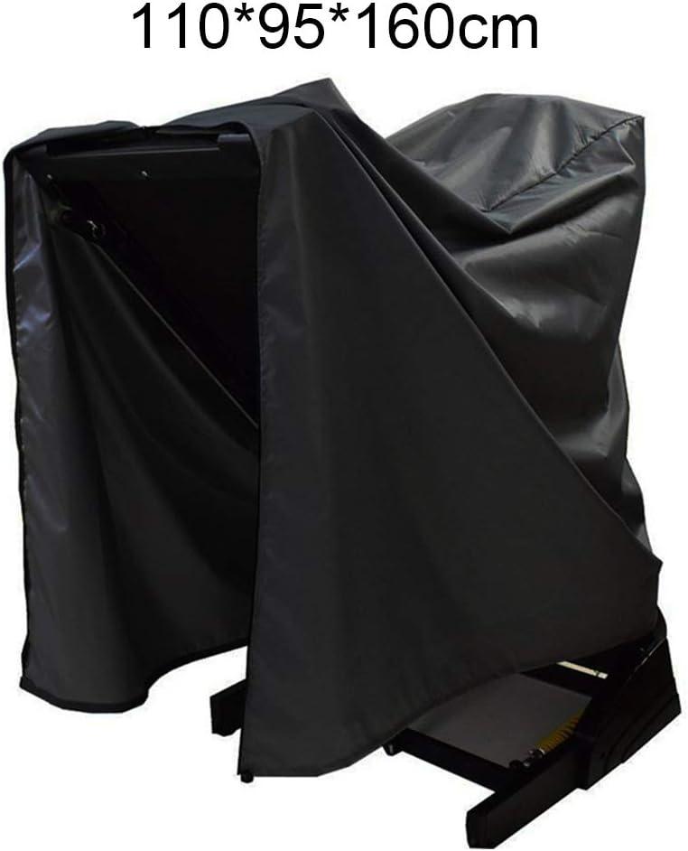color negro tela Oxford, anti UV, para uso en casa, gimnasio, para interiores y exteriores pnxq88 110 x 95 x 160 cm No nulo Plateado 91x91x152cm Funda impermeable para cinta de correr