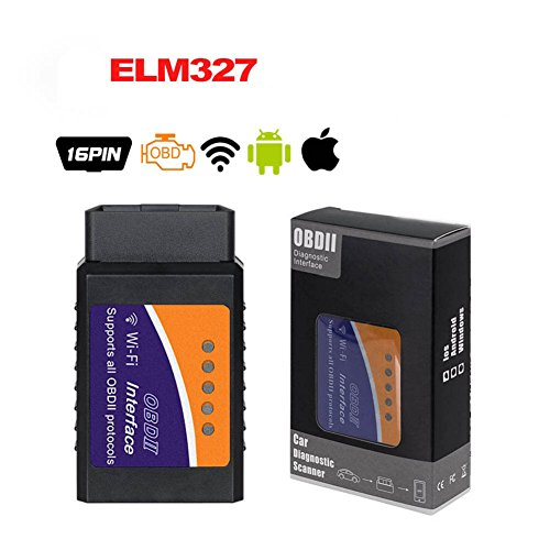 OBD 2 OBD2 Scan Tool ELM327 WIFI Wifi V1.5 OBDII Code Reader ELM 327 Wireless Auto Diagnostic Tool OBD2 Scanner Adapter for iPhone IOS Android Windows Apple for All Cars