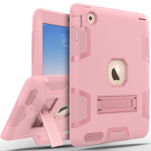 Smart Leather Cover Case for Apple iPad 2/3/4 (Hot Pink) - 6