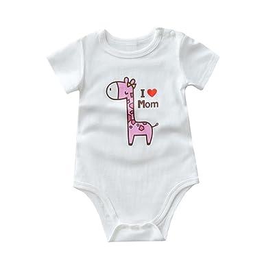 4b5ee4d5fc Mono de 0-24 meses Bebé SMARTLADY Pijama Peleles Bodies para bebe niños  niñas (