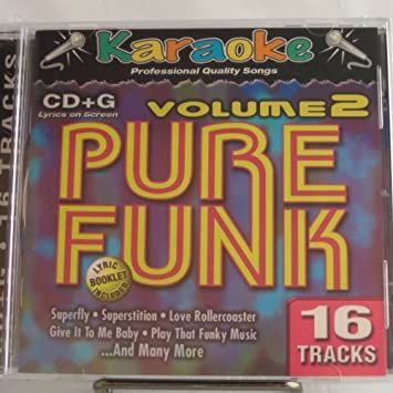 Karaoke Pure Funk Volume 2 Karaoke