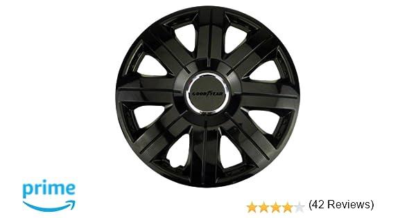 Good Year GOD9025 Flexo 10 Tapacubos de 14 Pulgadas Negro 35,5 cm, Set de 4: Amazon.es: Coche y moto