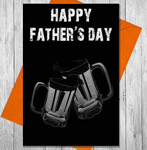 akgifts-fathers-day-card-beer-glasses-chalkboard-effect