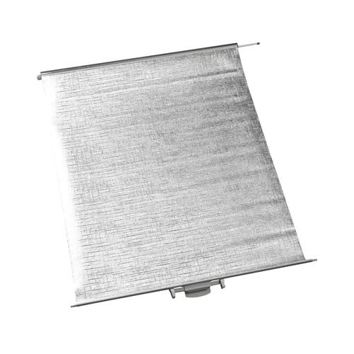 DOMETIC Verdunkelungsrollo Komplett 700 830 x 700 Komplett alu Grau 51f55e