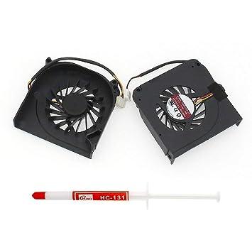 Generic nuevo ordenador portátil ventilador de refrigeración para AVC bnta0613r2h cartucho para MSI Wind Top AE1900 Series de repuesto número de pieza ...