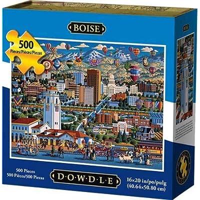 Dowdle Jigsaw Puzzle - Boise - 500 Piece: Toys & Games