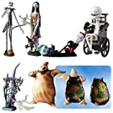 Tim Burton's the Nightmare Before Christmas Trading Figure Series 1 Set of 6