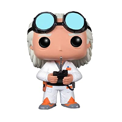Funko POP Movie Back to The Future Doc Vinyl Figure: Funko Pop! Movies:: Toys & Games [5Bkhe1107164]