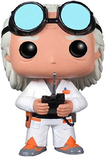 Back To The Future Emmett Brown Doc 50 Dr Funko POP Film Movies