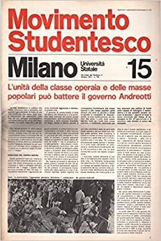 Movimento Studentesco: ottobre 1972 N.15