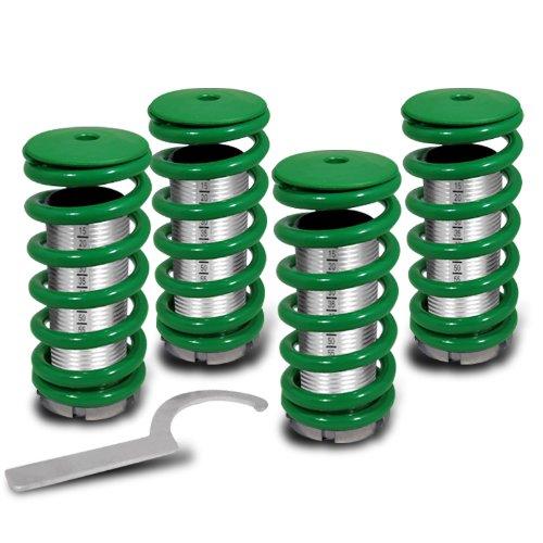 (Green)88 89 90 91 92 93 94 95 96 97 98 99 00 Honda Civic Eg Ek Ex Lx Lowering Coilovers Spring Kits ()