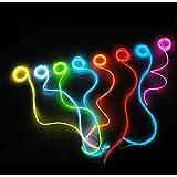 Esky&#153 Guirlande Lumineuse de Décoration - EL Wire - Electroluminescente Stroboscopique - 2,74 mètres - Bleu