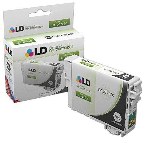 LD © Remanufactured Replacement for Epson T087820 (T0878) Matte Black Inkjet Cartridge for use in Epson Stylus Photo R1900 Printers