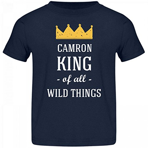 Camron King Of All Wild Things: Jersey Toddler T-Shirt