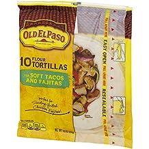 Old El Paso Soft Tacos & Fajitas Shells 10 ct 8.2 oz Bag