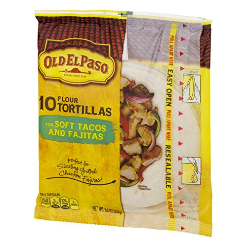 Soft Taco (Old El Paso Soft Tacos & Fajitas Shells 10 ct 8.2 oz Bag)