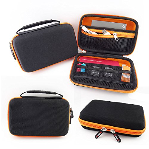 eeekit for nintendo 3ds ll xl travel accessories kit carrying bag clear cover case charging. Black Bedroom Furniture Sets. Home Design Ideas