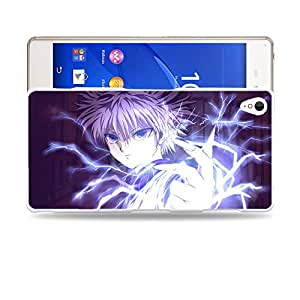 Case88 Designs Hunter X Hunter Killua Zoldyck Protective Snap-on Hard Back Case Cover for Sony Xperia Z3
