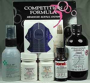 professional acrylic nail starter kit. opi competition formula advanced acrylic system starter kit professional nail l