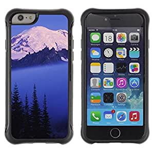 "Hypernova Defender Series TPU protection Cas Case Coque pour Apple Iphone 6 [Naturaleza Hermosa Forrest Verde 128""]"