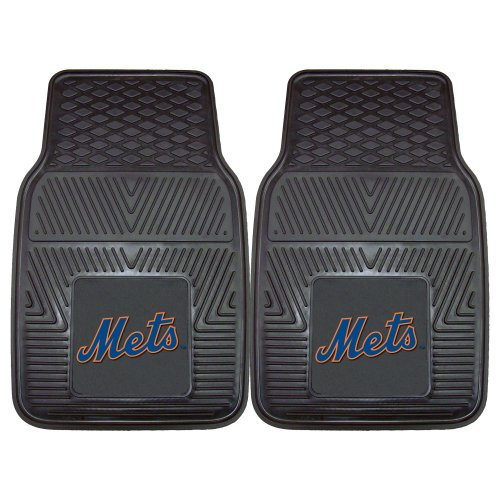 FANMATS MLB New York Mets Vinyl Heavy Duty Car Mat (New Mets Floor York)