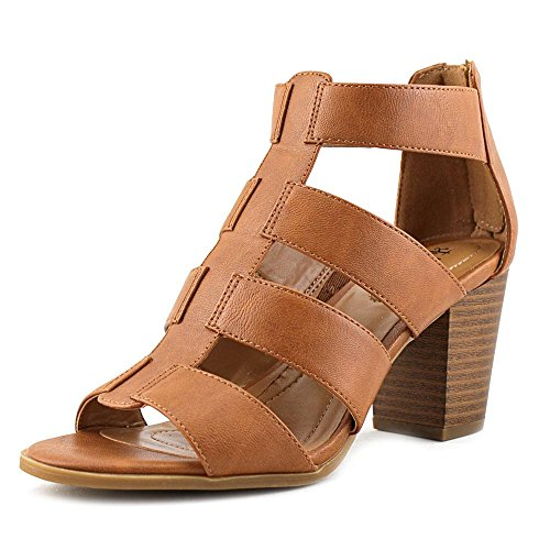 Coffee Strappy Open amp; Sandals Casual Toe Womens Janinaa Co Style gwTSB