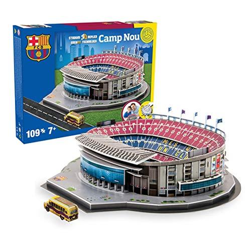 Nanostad FC Barcelona Camp Nou Stadium 3D Puzzle (3d Puzzles Stadium)