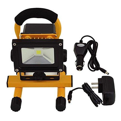120 Led Cordless Work Light Home Garage Emergency Portable: LEDwholesalers 12-Watt Rechargeable Portable LED Work