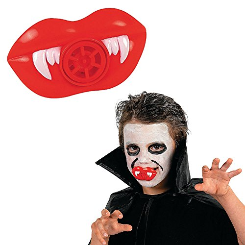 Plastic Vampire Fang Teeth Whistles Halloween Party Favors - 48 pieces