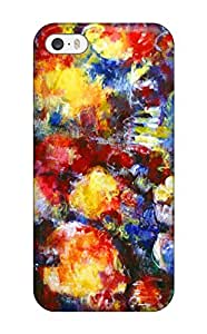 Awesome Abstract Painting Flip Case With Fashion Design For Iphone 5/5s