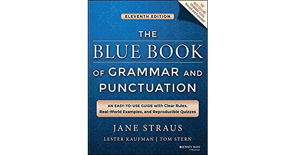 The blue book of grammar and punctuation an easy to use guide with the blue book of grammar and punctuation an easy to use guide with clear rules real world examples and reproducible quizzes livros na amazon brasil fandeluxe Images