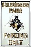 Purdue Large Parking Sign