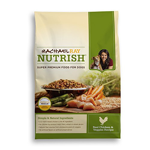 Rachael Ray Nutrish Dry Dog Food Chicken & Vegetable Recipe 28-Pound