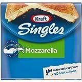 Expect More Kraft Singles Mozzarella Cheese Slices, 3 ct. / 36 Ounce
