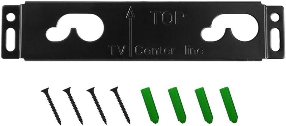 Black Wall Bracket with Screws for LG SH3 SH3K Speaker System