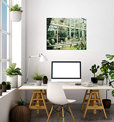 - Urban Natural Designs Greenhouse I Original Handcrafted Artwork Solid Wood